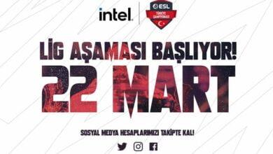 ESL Türkiye CSGO Ligi Başlıyor