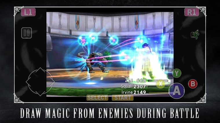 Final Fantasy VIII Remaster Mobile Geldi