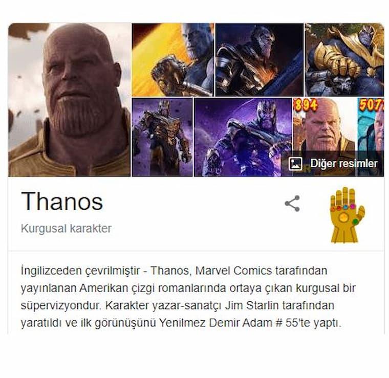 Herkesin Merak Ettiği Thanos Hilesi