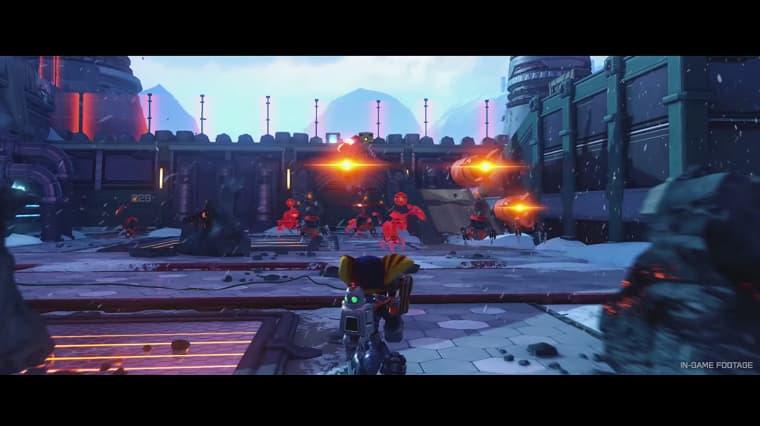 Ratchet and Clank Güncellemeyle Birlikte PS 5 Üzerinde 60 FPS Oynanabilecek