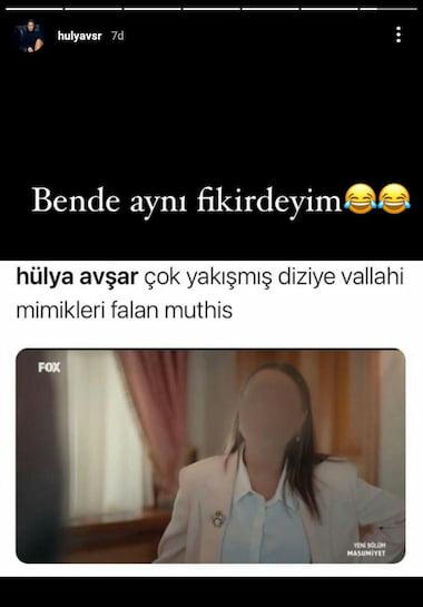 Hülya Avşar'ın Attığı Tweet