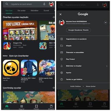 Google Play Store'un Yeni Tasarımı Dikkat Çekiyor