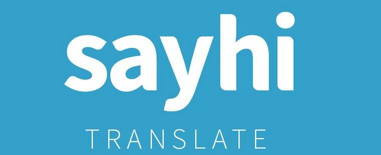 SayHi Translate