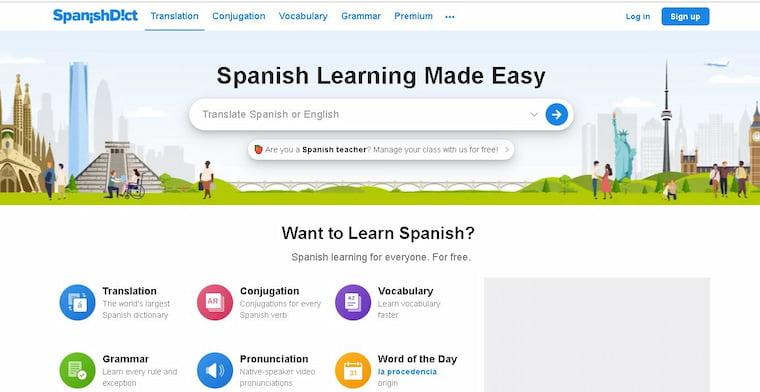En İyi Çeviri Programı 2021 SpanishDict