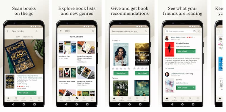 En İyi Kitap Okuma Uygulamalarından Bir Tanesi Goodreads