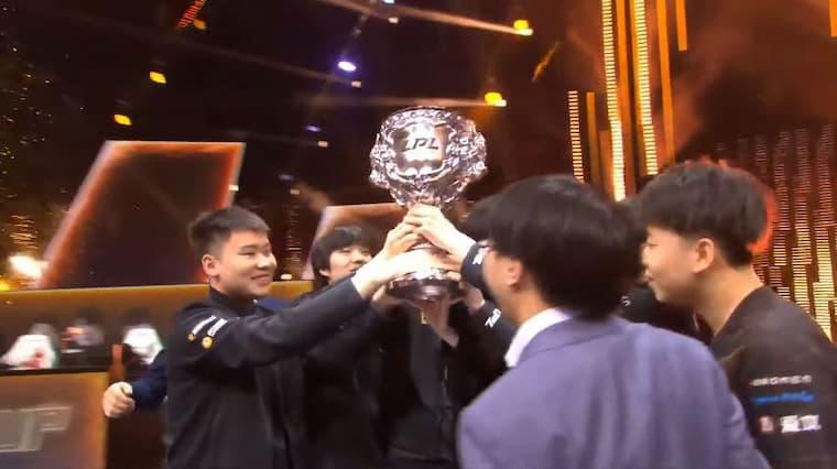 RNG LPL şampiyonu oldu!