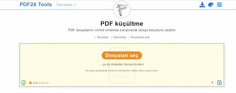 Online Dosya Boyutu Küçültme Siteleri Top 5