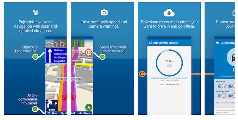 Harita ve Navigasyon Uygulaması MapFactor