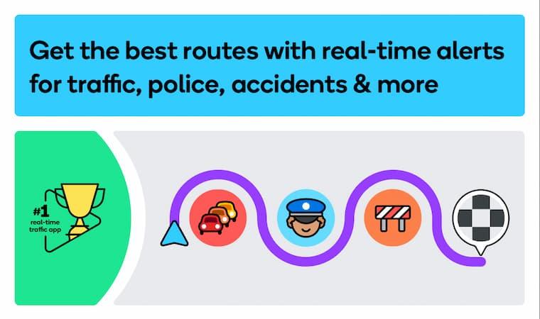 Harita Uygulaması Waze