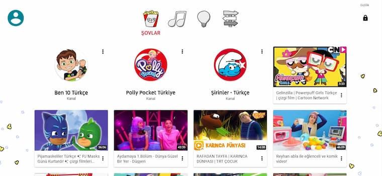 Youtube kids türkiye nedir