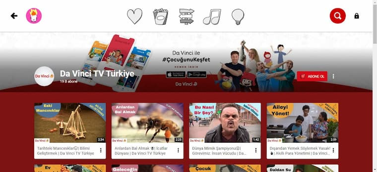 faydalı ve eğlenceli youtube kids kanalları youtube kids channels