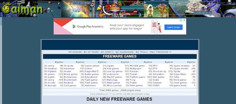En İyi Oyun İndirme Siteleri  Caiman.us