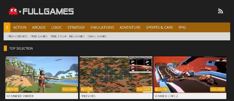 En İyi Oyun İndirme Siteleri  Fullgames SK