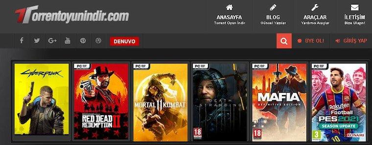 En İyi Oyun İndirme Siteleri Torrent Oyun İndir