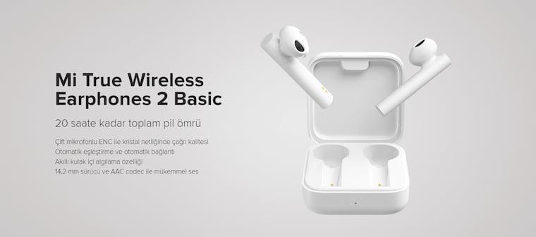 Xiaomi Bluetooth Kulaklık Xiaomi Mi True Earphones 2