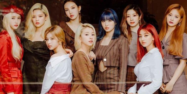 twice en popüler k-pop grupları