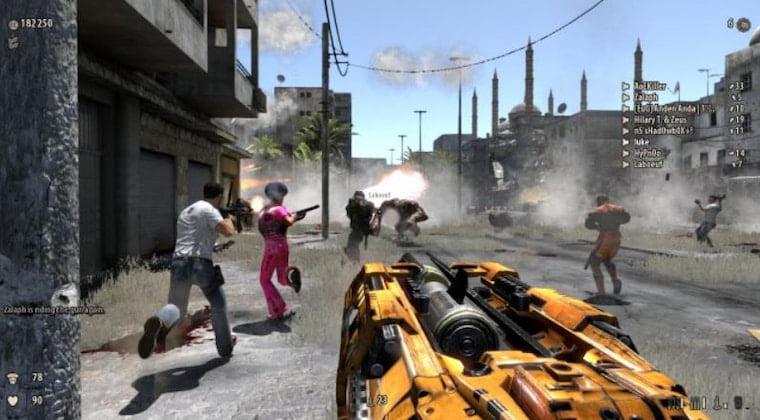 En İyi Savaş Oyunları Serious Sam 3: BFE