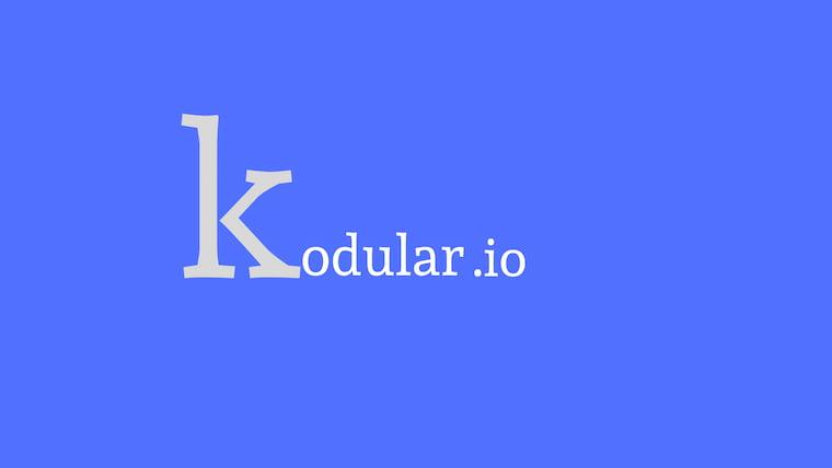 Mobil Uygulama Tasarlamak İsteyen Kişilere Ücretsiz Hizmet Sunan Kodular.io